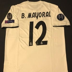 Real Madrid Jersey 2018/2019 B. Mayoral #12 XL